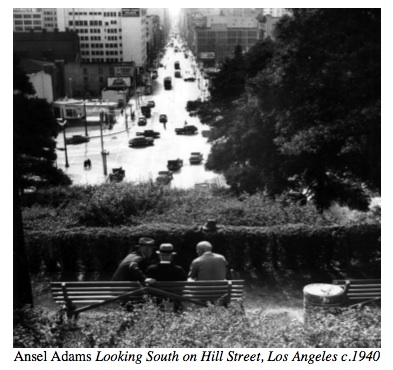 ansel adams los angeles is a show of rarely seen photographs that reveal the lost landscape and lifestyle of pre war los angeles